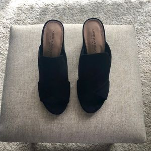 Christian Siriano by Payless Suede Heels